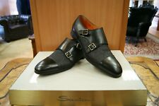 Santoni Herrenschuhe Dubble Monk  Gr: 6, 7,  8, 10, 11 (40, 41, 44, 45)