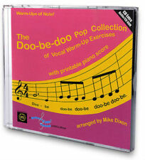 DOO-BE-DOO COLLECTION of VOCAL WARM-UP EXERCISES CD + Printable Piano Score