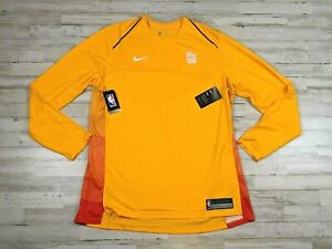 Nike Utah Jazz City edition Long sleeve T Shirt Men Size XL Gym basketball Shirt