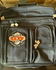SUPER BOWL XXXV 35 NFL MEDIA PRESS LAPTOP BAG NEW RAVENS GIANTS EXTRAS NO RES!!!