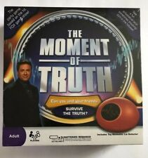 The Moment of Truth Fox Game Show 2008 Lie Detector Adult Game Factory Sealed