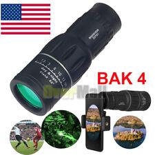 16x52 Binoculars with Night Vision Bak4 Prism High Power Waterproof+Phone Holder
