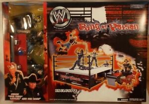 WWE Wrestling Ring of Poison Exclusive Jerry Lawler & Jim Ross SEALED BOX WWF
