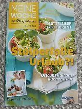 """Weight Watchers """"Meine Woche"""" Heft 1.-7.7.2012 ProPoints Plan 2.0"""