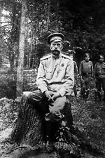 New 5x7 World War I Photo: Czar of Russia Nicholas Romanov II in Captivity