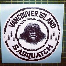 "VANCOUVER ISLAND SASQUATCH 5"" ROUND DECAL"