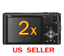 2x Clear LCD Screen Protector Guard Shield Film For Nikon Coolpix S9400 S9500