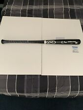 Greg Maddux Signed Baseball Bat PSA/DNA Braves Batting Grip Rare