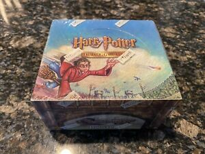 Harry Potter Quidditch Cup TCG SEALED Booster Box WOTC 36 Packs of Cards!