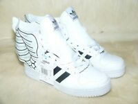 ADIDAS JEREMY SCOTT Shoes Mens JS WINGS 2.0 WHITE/BLACK SIZE 7