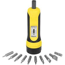 Wheeler Fat Torque Wrench Screwdiver w/ 10 Bit Set 553556 Gunsmithing Equipment