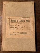 1925 Australian Record of Service Military cadet citizen soldier 14 year old