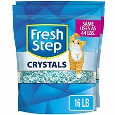 New listing Fresh Step Crystals, Premium Cat Litter, Scented, 16 Pounds (Package May Vary)