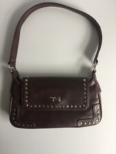 Tommy Hilfiger Women's Leather Clutch Studded With Strap