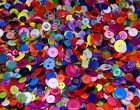 Various Buttons Mixes - Bags Assorted Colours & Various Mixed Sizes 11mm to 25mm