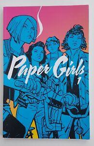 Paper Girls Volume 1. TPB Comic Book. Brian K. Vaughan