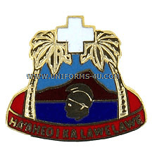 ARMY TRIPLER USAR HOSP HAWAII UNIT CREST