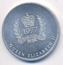 Canada Queen Elizabeth II Silver Jubilee British Columbia Jetton Medal 1977 XF