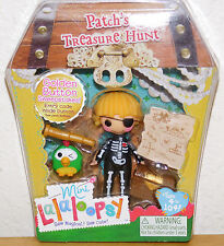 Patchs Treasure Hunt Skeleton Gold Button Parrot LalaLoopsy Mini Doll NEW