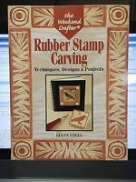 Rubber Stamp Carving Techniques Designs Projects Luann Udell book