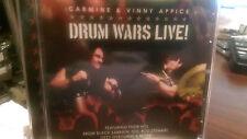 Drum Wars Live! Vinny Appice/Carmine Appice CD Sabbath Dio Rod Stewart Ozzy