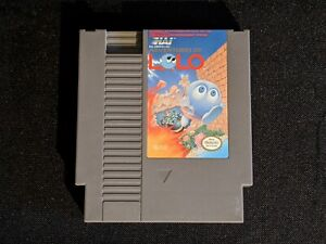 Adventures of Lolo - Nintendo NES - Cartridge Only - Tested & Working