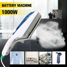 Portable 1000W Electric Steam Iron Handheld Fabric Clothes Laundry Steamer Brush
