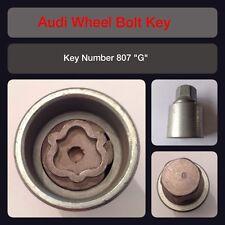 "Genuine Audi Locking Wheel Bolt / Nut Key 807 ""G"" 17 Hex"