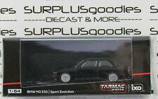 Tarmac Works 1:64 2020 ROAD64 Black BMW M3 E30 Sport Evolution #T64-009-BLK