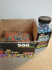 brass eagle paintballs.68 caliper Box And Container Not Full 3/4 + Box Almost