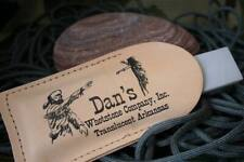DAN's Whetstone Arkansas Pocket Sharpener Stone w/pouch