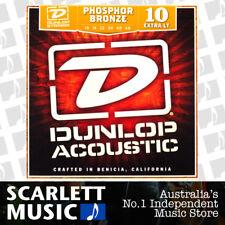 Jim Dunlop Acoustic Guitar String Set Extra Light 10-48 Phosphor Bronze DAP-1048