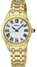 Seiko Ladies Gold Plated Watch - SRZ384P1-X-SQNP