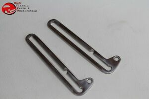 28-31 Ford Model A Closed Car Pickup Truck Windshield Stainless Slide Swing Arms