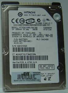 """HTS541680J9AT00 Hitachi 80GB IDE 2.5"""" 9.5MM Hard Drive Tested Our Drives Work"""