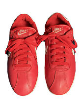 Vintage 80s Nike Cortez Classics Sneakers Red Waffle Soles 70s Cortez