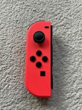 Genuine Nintendo Switch Joy-Con Controller Left Only Single Red
