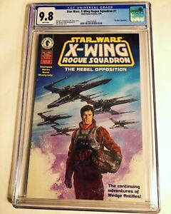 CGC 9.8 Star Wars: X-Wing Rogue Squadron #1 White Pages