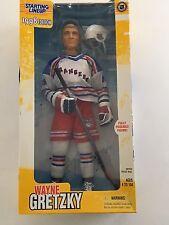 "Vintage 1998 Starting Lineup Wayne Gretzky 12"" Poseable NY Rangers Figure NIB"