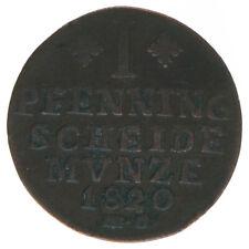 Braunschweig 1 Pfennig 1820 A43164