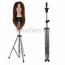 Adjustable Hairdressing Training Mannequin Head Holder Tripod Stand Clamp + Bag