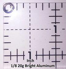 BLACK Anodized Aluminum JUMP RINGS 500 1/8 20g SAW CUT Chainmail chain mail