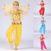 Handmade Children Girl Belly Dance Costumes Kids Belly Dancing Egypt Dress