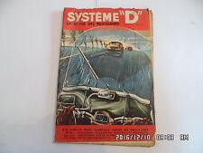SYSTEME D N°152 8/1958 ESSUIE GLACE POUR SCOOTER PORTE REVUE BUREAU ETABLI  D85