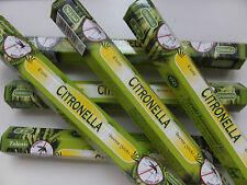 20 Stück Tulasi Citronella Mückenschutz - Räucherstäbchen - incense sticks