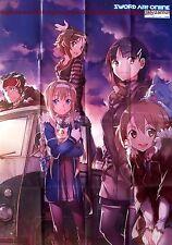 Sword Art Online Poster Promo big anime girl sao S A O