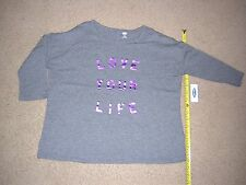 NEW! Old Navy Grey T shirt/ Size L(10-12)