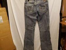 Women's/Juniors Jeans De Fleur Stretch Denim, Design on back pockets, Size 11