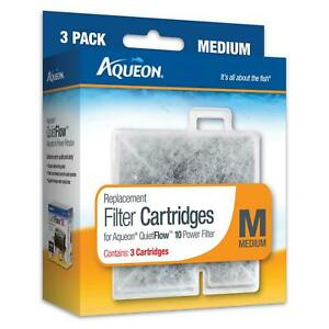 Aqueon Replacement Filter Cartridges, Medium