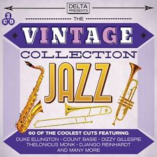 3 CD BOX VINTAGE JAZZ COLLECTION ELLINGTON BASIE CARTER HERMAN GETZ TEAGARDEN